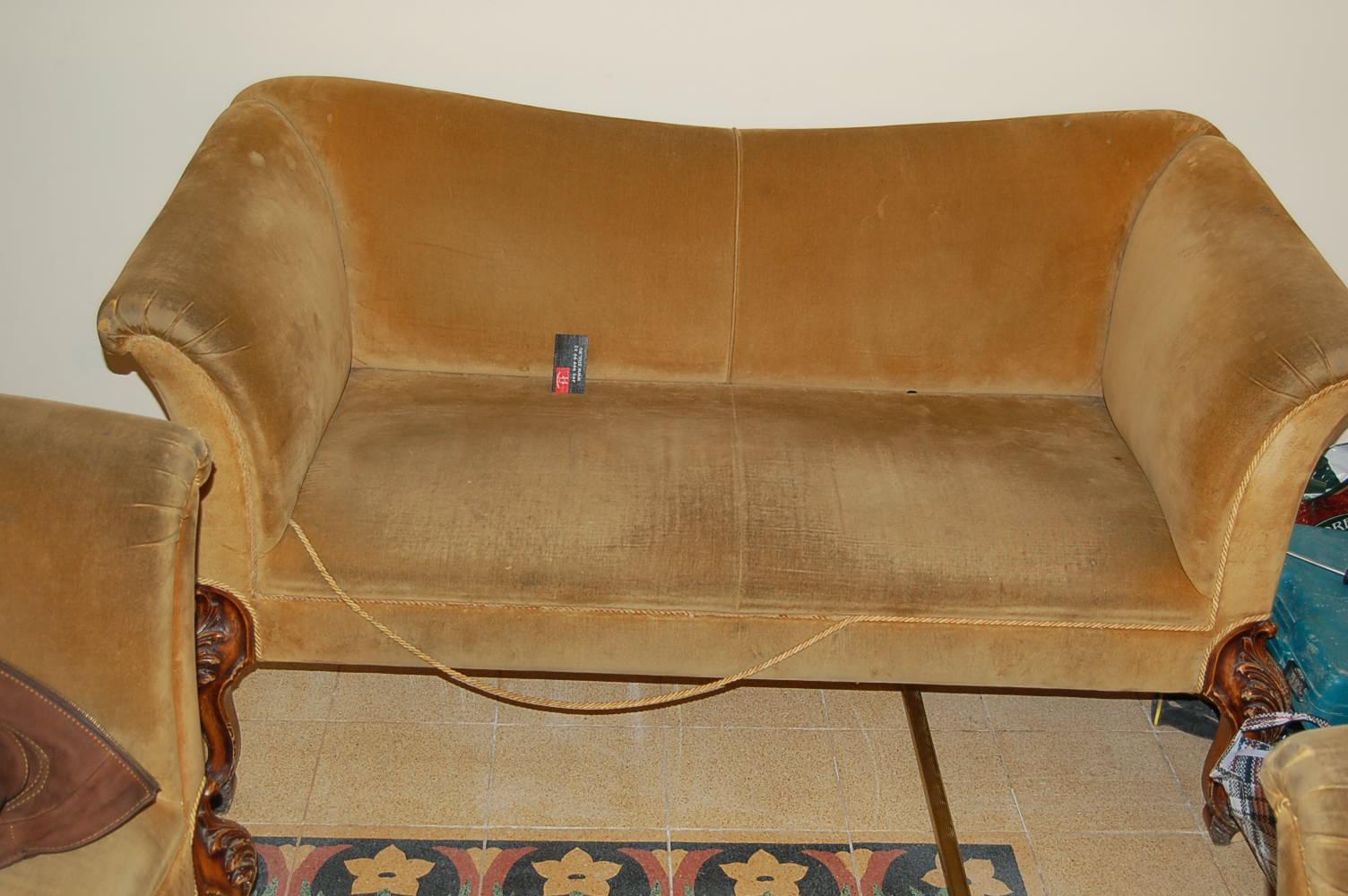 Обивка перетяжка диванов своими руками