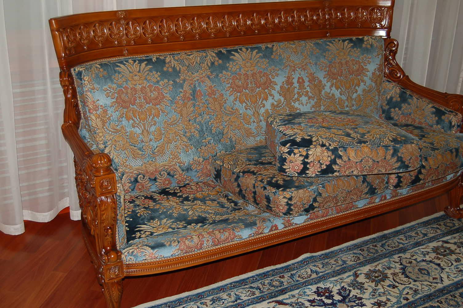 Обивка мягко мебели своими руками