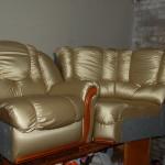 Ремонт и реставрация мягкой мебели в Монино