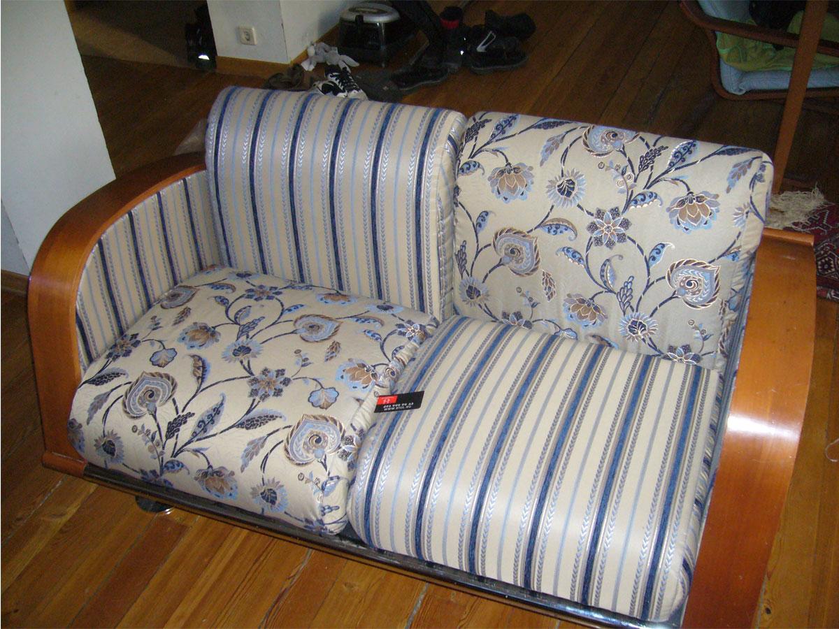 Перетяжка дивана своими руками 51