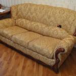 Обивка тканью дивана Горки