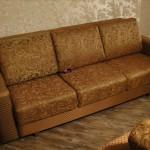 Обивка дивана - Главмосстроя