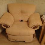 Обивка кресла тканью - Грибки МО