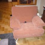 Перетяжка мягкой мебели в Сычево