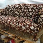 Перетяжка мягкой мебели в Электрогорске