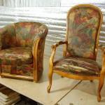 Перервинский бульвар - перетяжка мягкой мебели