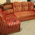 Сиреневый бульвар - перетяжка мягкой мебели