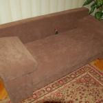 Зарайский - обшивка стульев
