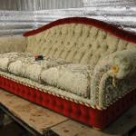 Шелепихинское шоссе - реставрация диванов