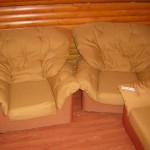 ст-я метро Беговая - реставрация диванов
