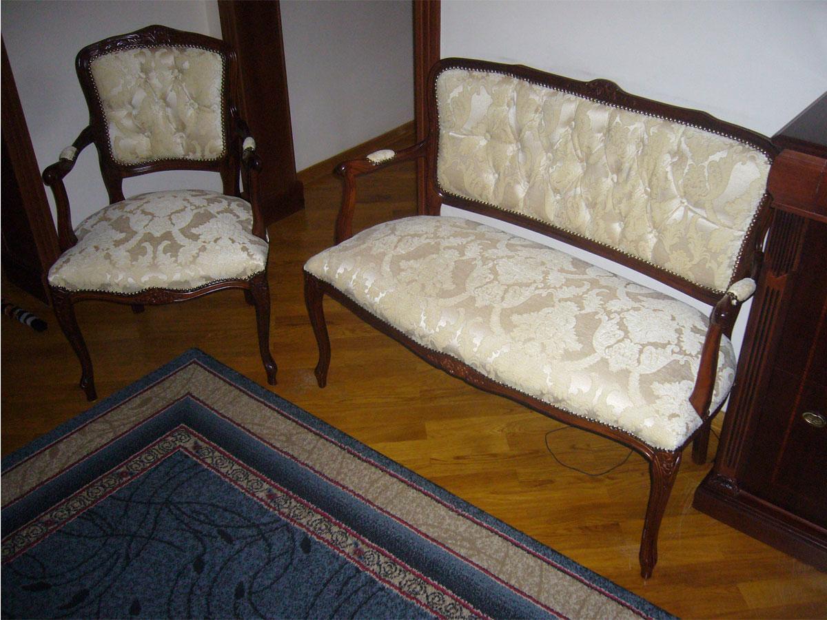 Перетяжка мебели своими руками на дому - это просто 58
