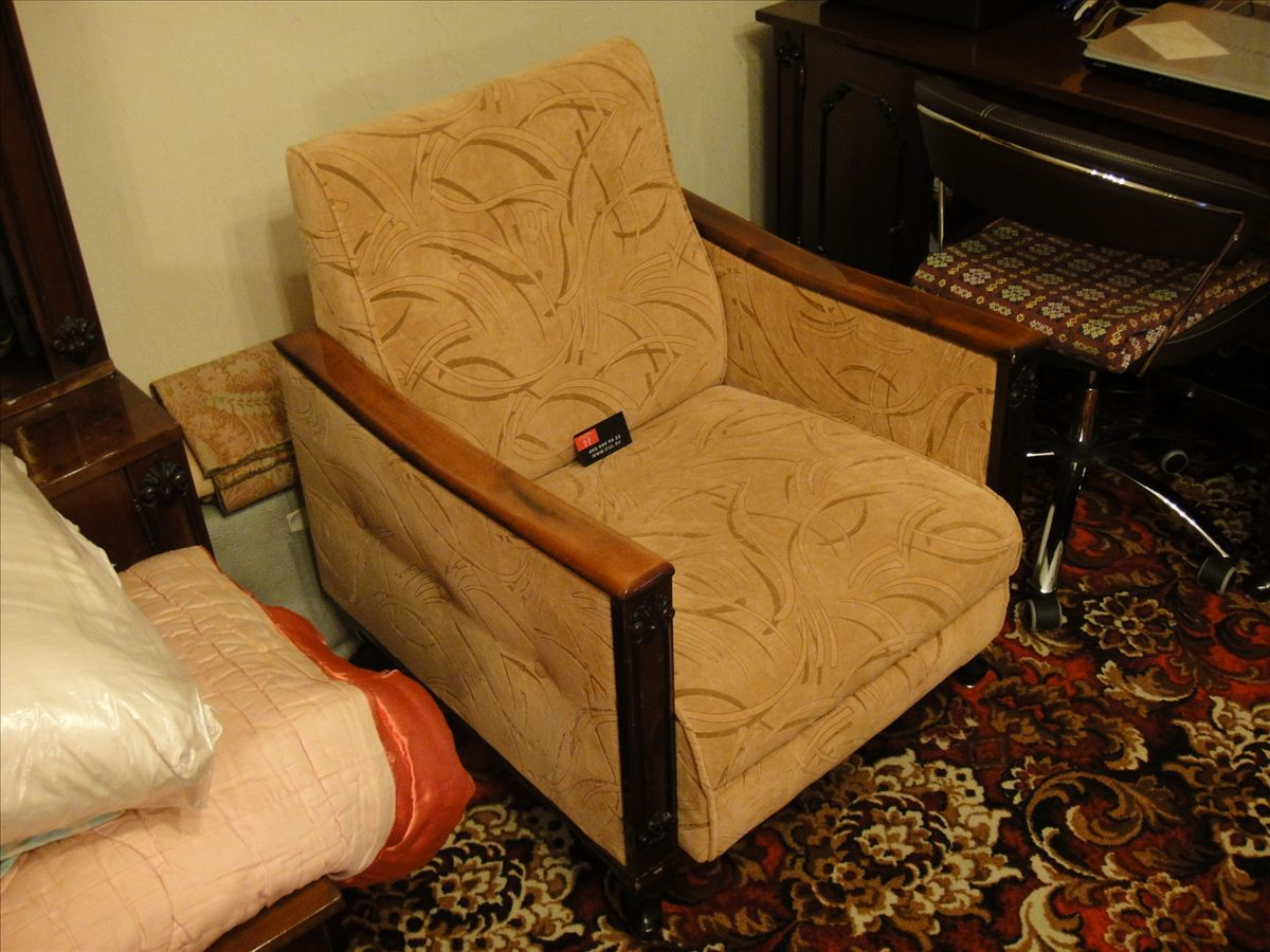 Реставрация старого кресла своими руками фото