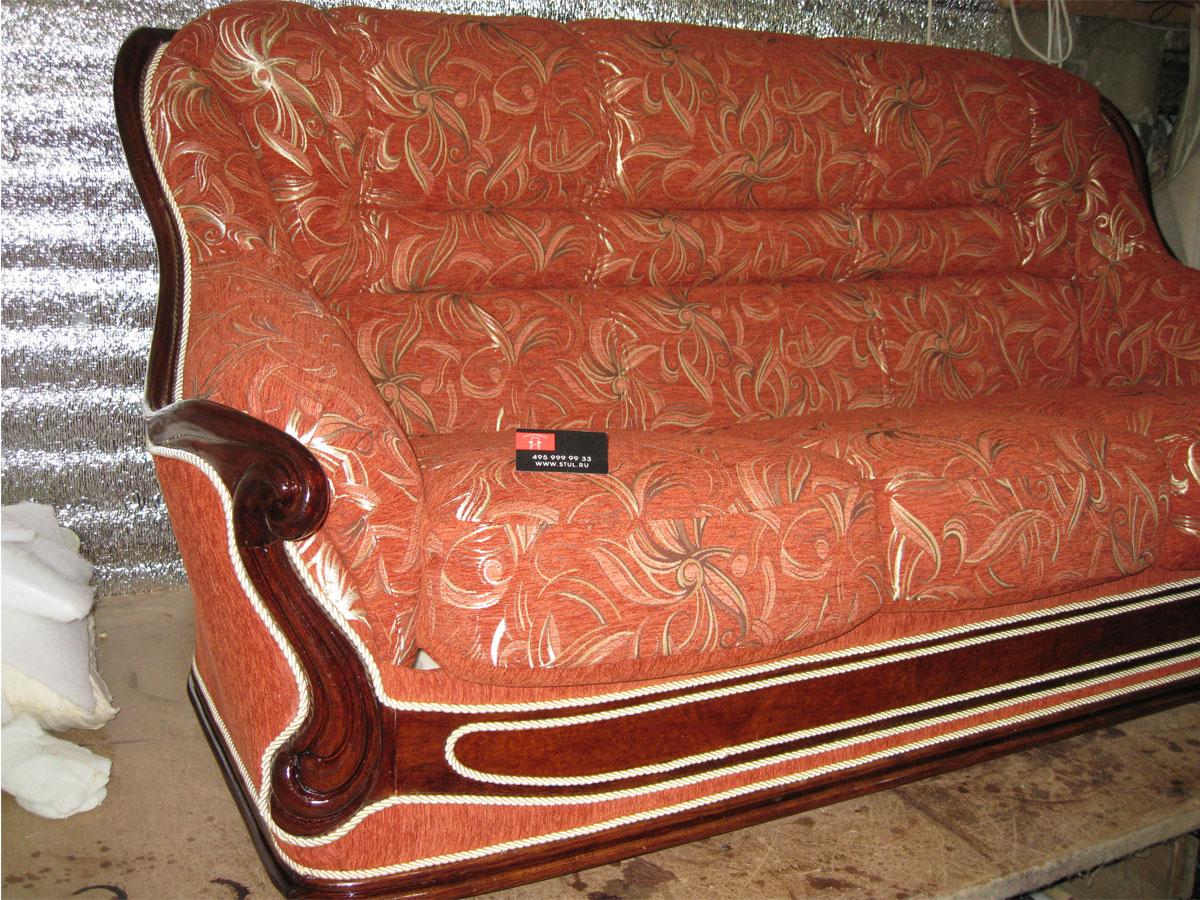 Как реставрировать старый диван фото