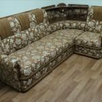Гагаринский - перетяжка диванов