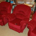 Старый Арбат - перетяжка мягкой мебели