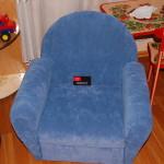 Новый Арбат - перетяжка мягкой мебели