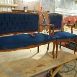 Новослободская - перетяжка мягкой мебели