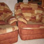 Люберецкий - перетяжка диванов