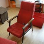 Красноказарменная - перетяжка диванов