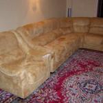 Союзный проспект - перетяжка диванов
