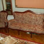 Мещерский проспект - реставрация мягкой мебели