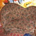 Гоголевский бульвар - перетяжка мягкой мебели