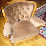 Мячковский бульвар - перетяжка мягкой мебели