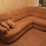 Клинский - перетяжка диванов